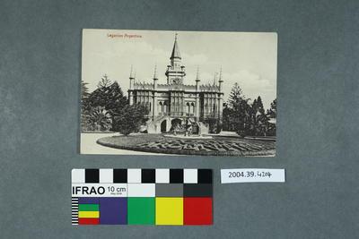 Postcard: Legacion Argentina