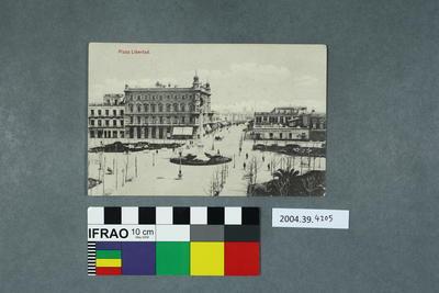 Postcard: Plaza Libertad
