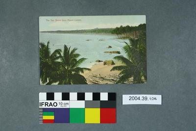Postcard: The Sea Shore