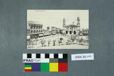 Postcard: Plaza Constitucion