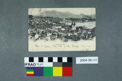 Postcard: Luzern und Rigi