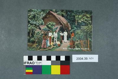 Postcard: Native Villagers