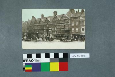 Postcard: Old Houses