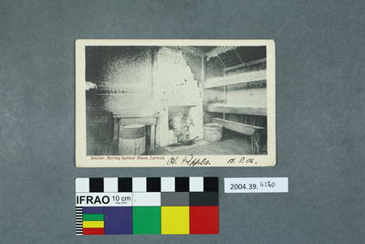 Postcard: Interior