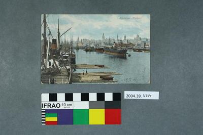 Postcard: Aberdeen Harbour