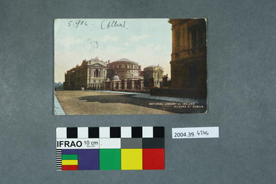 Postcard: National Library