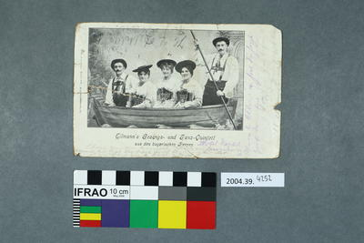 Postcard: Ellman's Gesangs