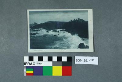 Postcard: Rough Sea