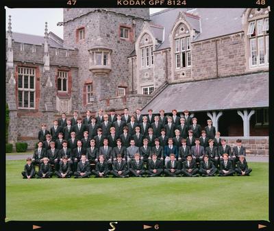 Negative: Christ's College's Harper House 1992