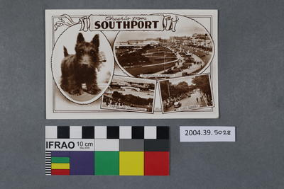 Postcard: Cheerio From Southport