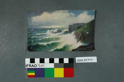 Postcard: Cornish Coast