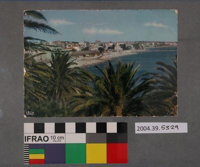 Postcard of a beach