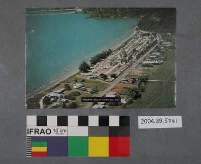 Postcard: Pohara Beach