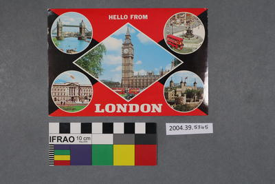 Postcard: Hello From London