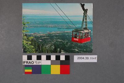 Postcard of the Grouse Mountain Skyride