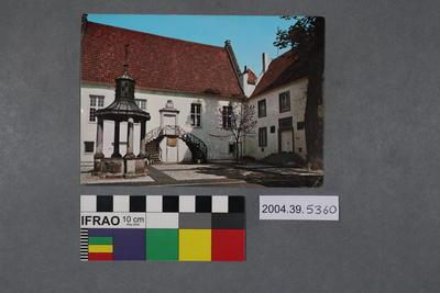 Postcard of the Falkenhof Museum