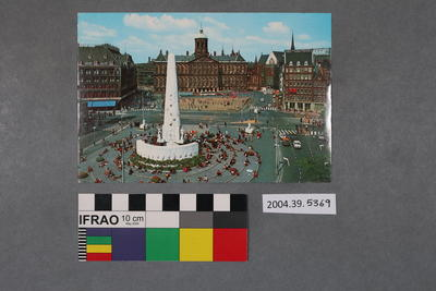 Postcard of the Het Nationale Monument