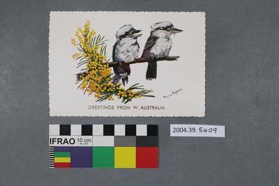 Postcard: Greetings From W. Australia