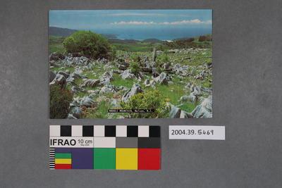 Postcard: Marble Mountain