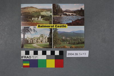 Postcard: Balmoral Castle