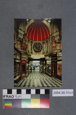 Postcard of Gog and Magog