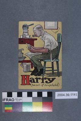 Postcard: Harry