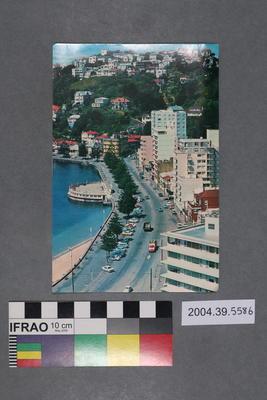 Postcard of Oriental Bay; 2004.39.5586