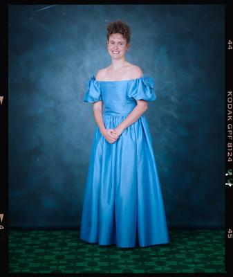 Negative: Marian College Ball 1992