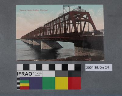 Postcard: Victoria Jubilee Bridge