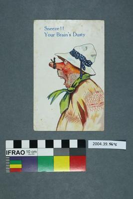 Postcard: Sneeze!!
