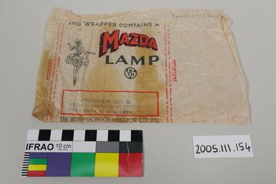 Wrapper: Mazda Lamp