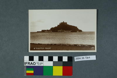 Postcard: St Michaels Mount