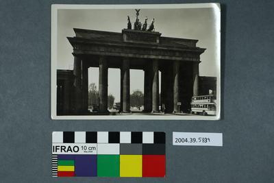 Postcard of the Brandenburg Gate