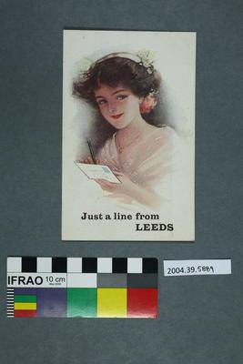 Postcard: Just A Line