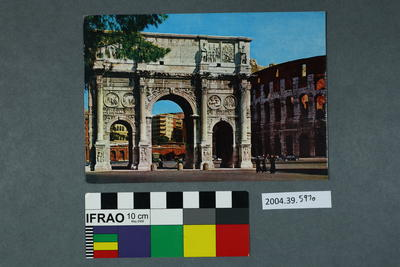 Postcard of the Arc of Constantine
