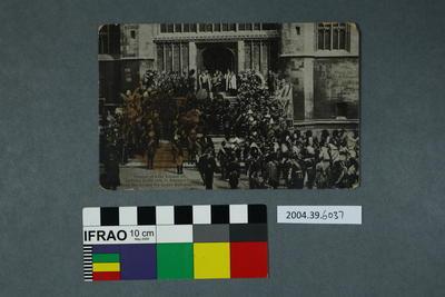 Postcard: Funeral of King Edward VII