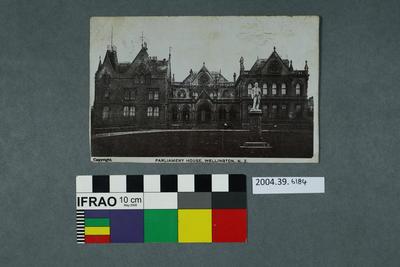 Postcard: Parliament House, Wellington