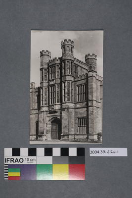 Postcard of The Gatehouse at Coughton Court