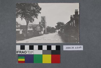 Postcard: Main Street, Sibsey