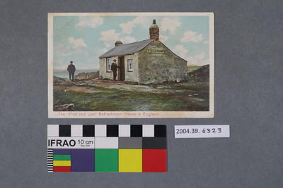 Postcard: The First and Last Refreshment House, England
