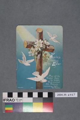 Postcard: Heaven's Blessing on Thy Easter