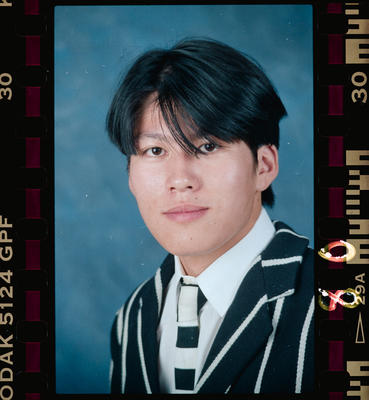 Negative: Christ's College Student 1993