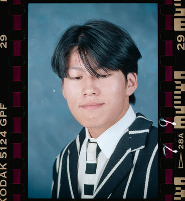 Negative: Christ's College Student 1993
