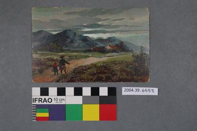 Postcard: Near Ben Lomond