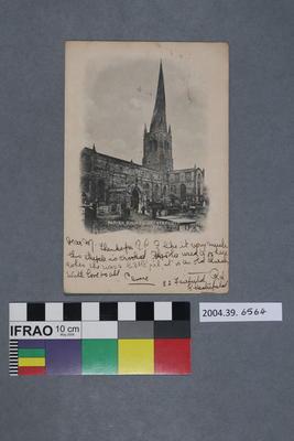 Postcard: Parish Church Chesterfield