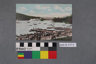 Postcard: Bowness Bay and Promenade, Windermere