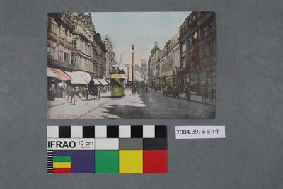 Postcard: Lord Street, Liverpool