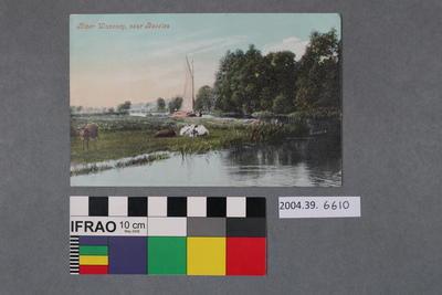 Postcard: River Waveney, Near Beccles