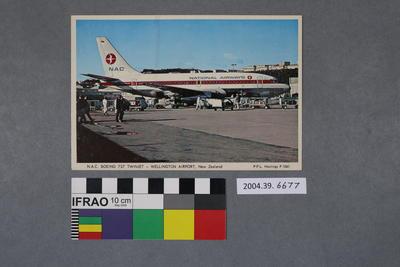 Postcard: N.A.C. Boeing 737 Twinjet