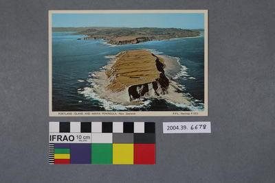 Postcard: Portland Island and Mahia Peninsula